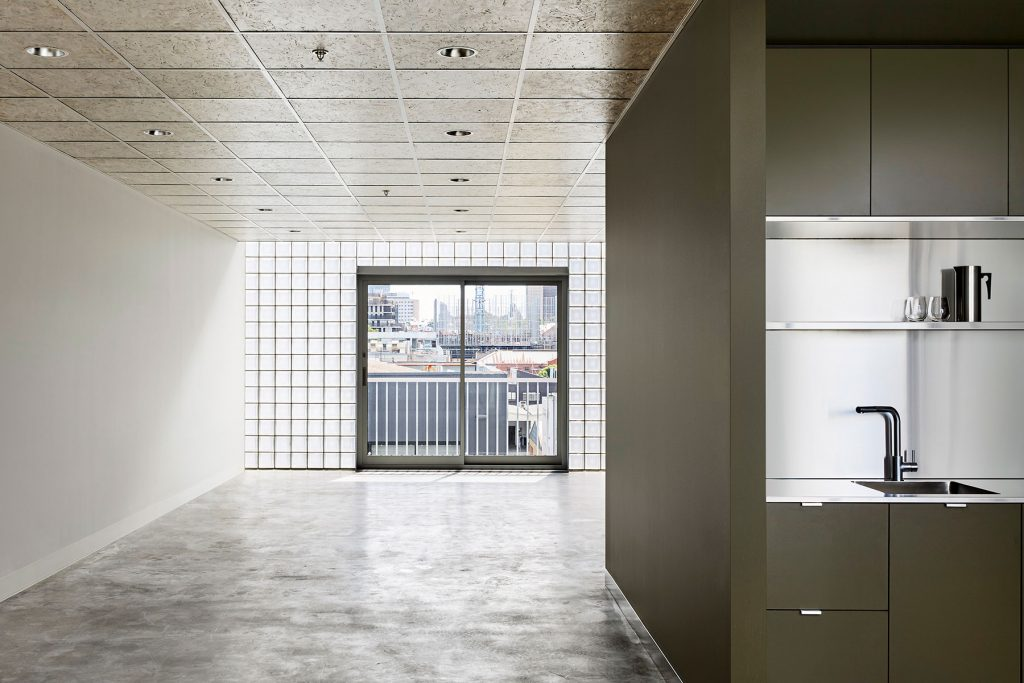 Brought To Life By Clare Cousins, The Open Uncluttered Spaces Are Hinged Together From Its Full Height Glass Block Façade Frontage.