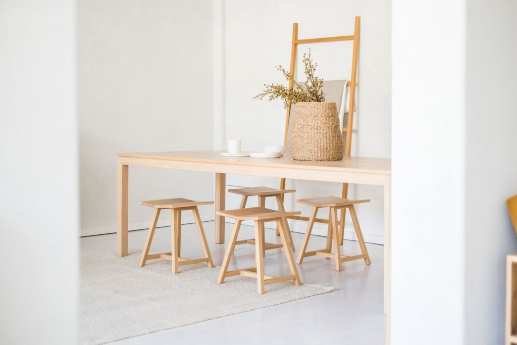 The Woodford Stool Is Both Neat And Simple And Like Its Big Brother