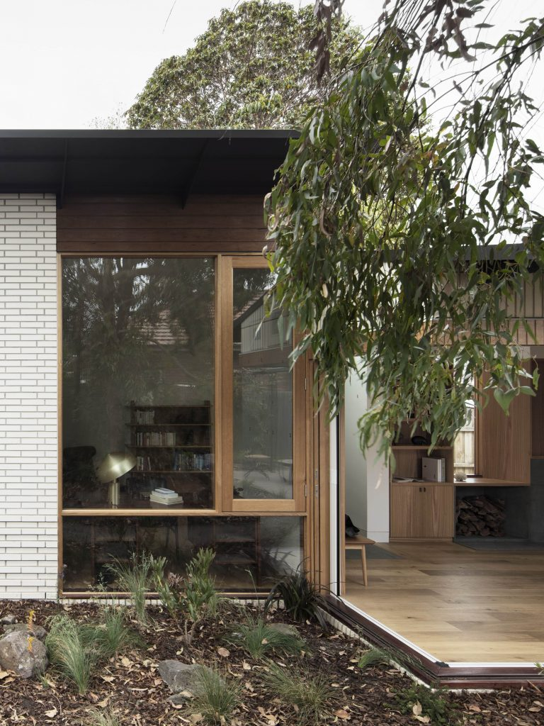The Brief Was To Extend The Living Area And Study Into The Garden To Provide And Improved Connection The Garden