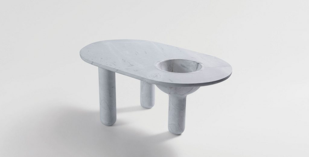 While Built From Simple Forms, Bacchus Is A Table That's Intended To Spark Curiosity.