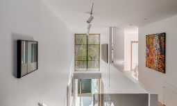 Along With Timber, The Weightiness Of The Concrete Forms Ground The Large Scale Glazing And Other Punctuated Openings.