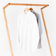 Our Rose Leaning Clothes Rack By Heimur