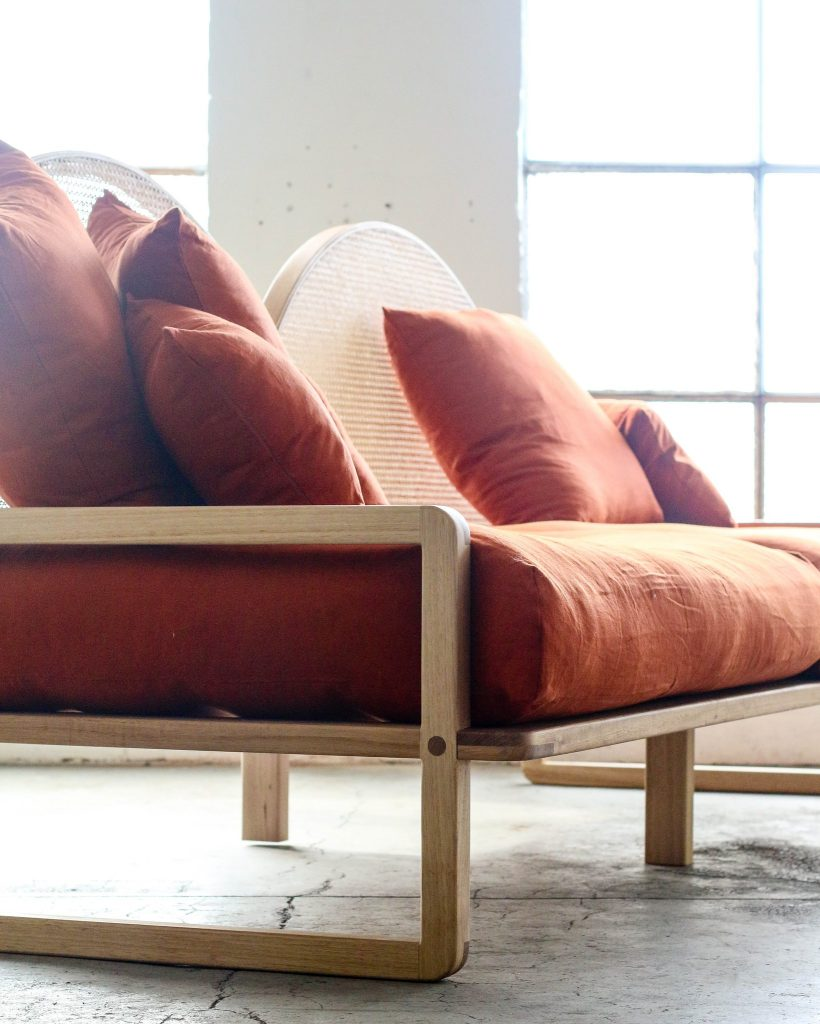 Scandanavian Inspired Lounge Seat For Residential Settings