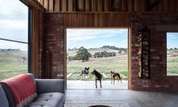 April And Muffy Getting Up To Their Usual Tricks In Their South Yarra Home Designed By Zen.