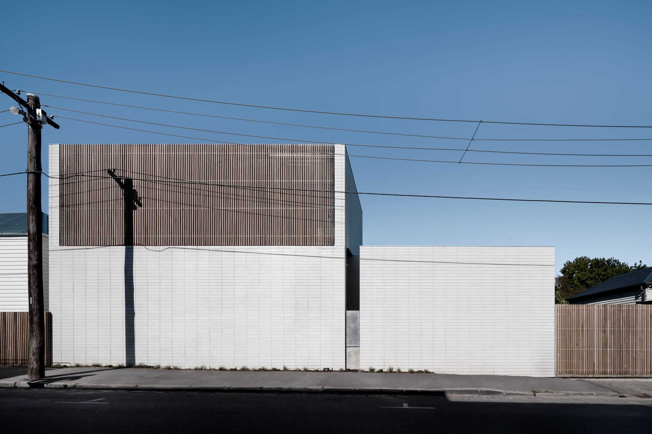 Conceived As A Front To The Commercially Zoned Adjacent Muli Storey Carpark And Retail Zone
