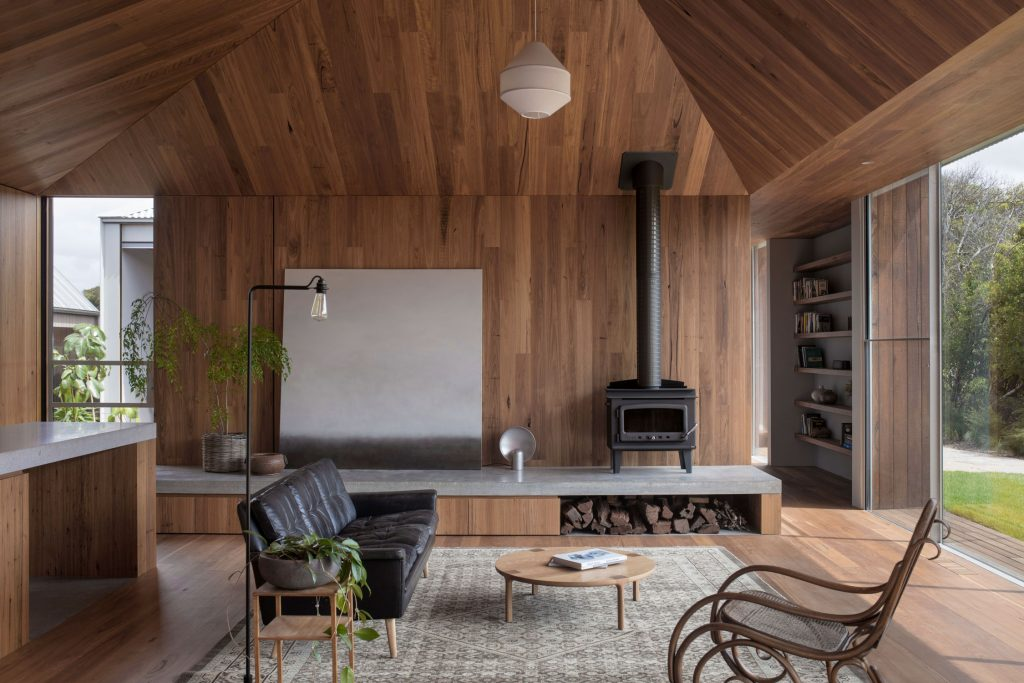 Edition Office's Point Lonsdale House Is Comprised Of A Series Of Vaulted Pavilions Connected Around A Central Living Space