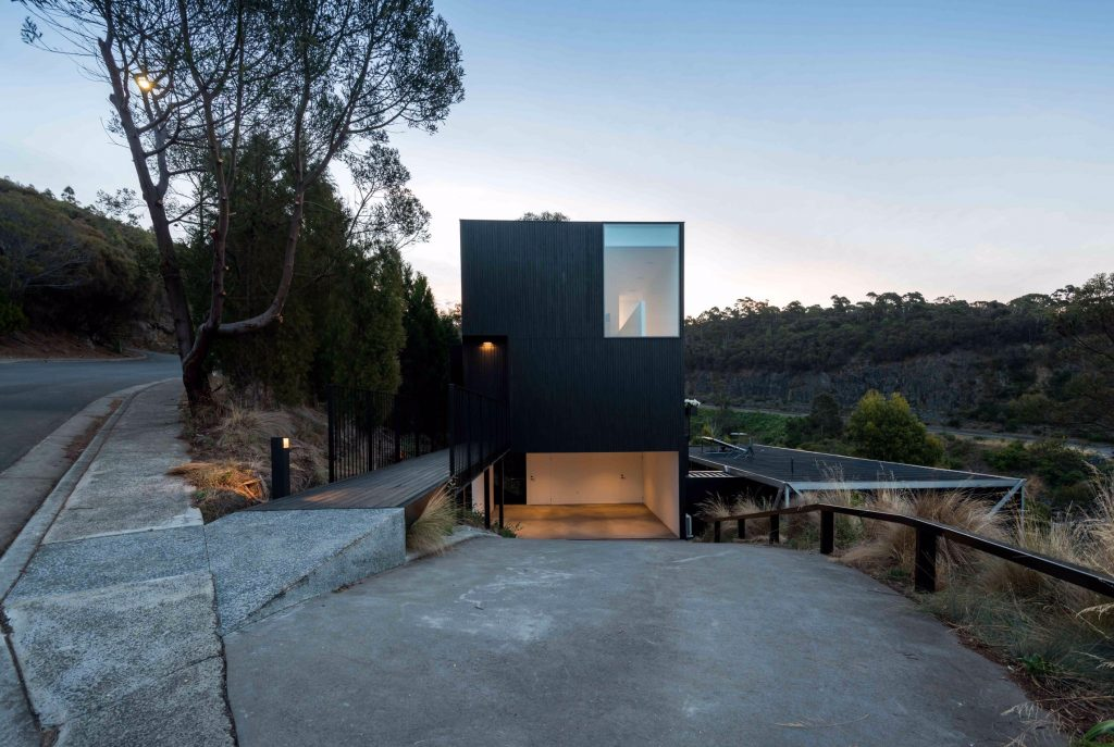 Perched On A Hillside, Atop The Carport Of An Existing Residence, The (gr)ancillary Dwelling Is An Alternative To El