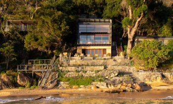 Echoing The Archetypal Australian One Room Beach Abode, Where The Architecture Takes On A Box Like Structure, Opening One Side To The Elements.