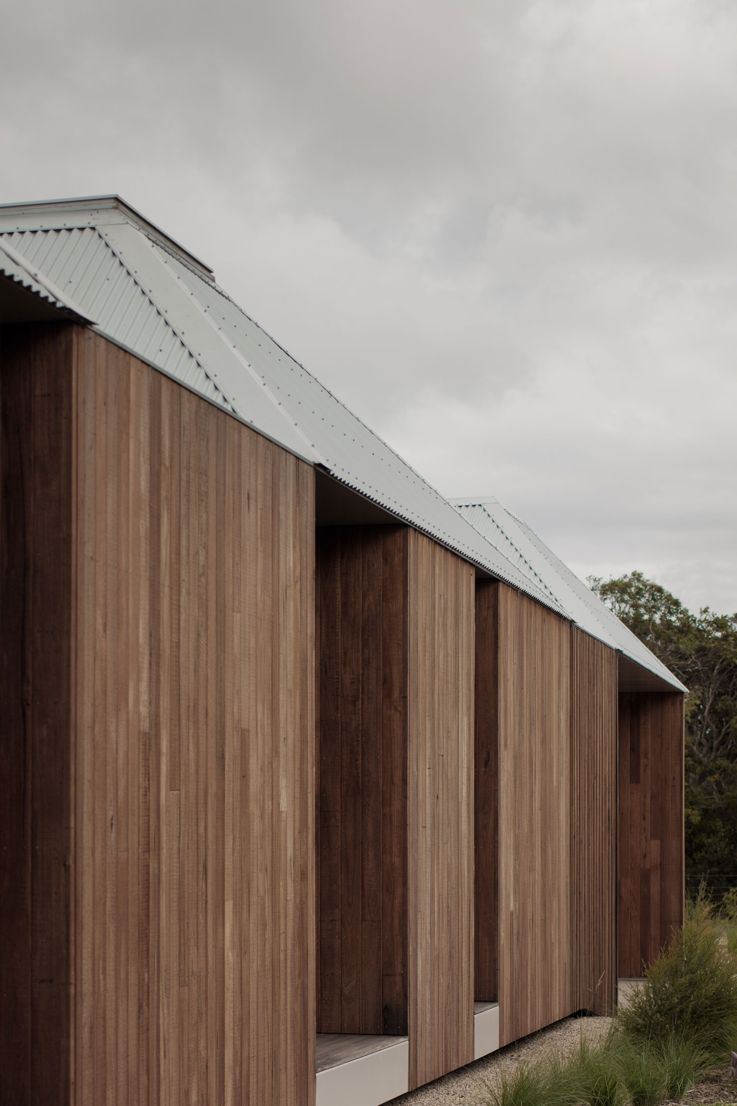 Separated Based On Functionality, Each Of The Spaces Is An Expression Of Its Purpose Creating A Sense Of The Cabin Holiday Home.