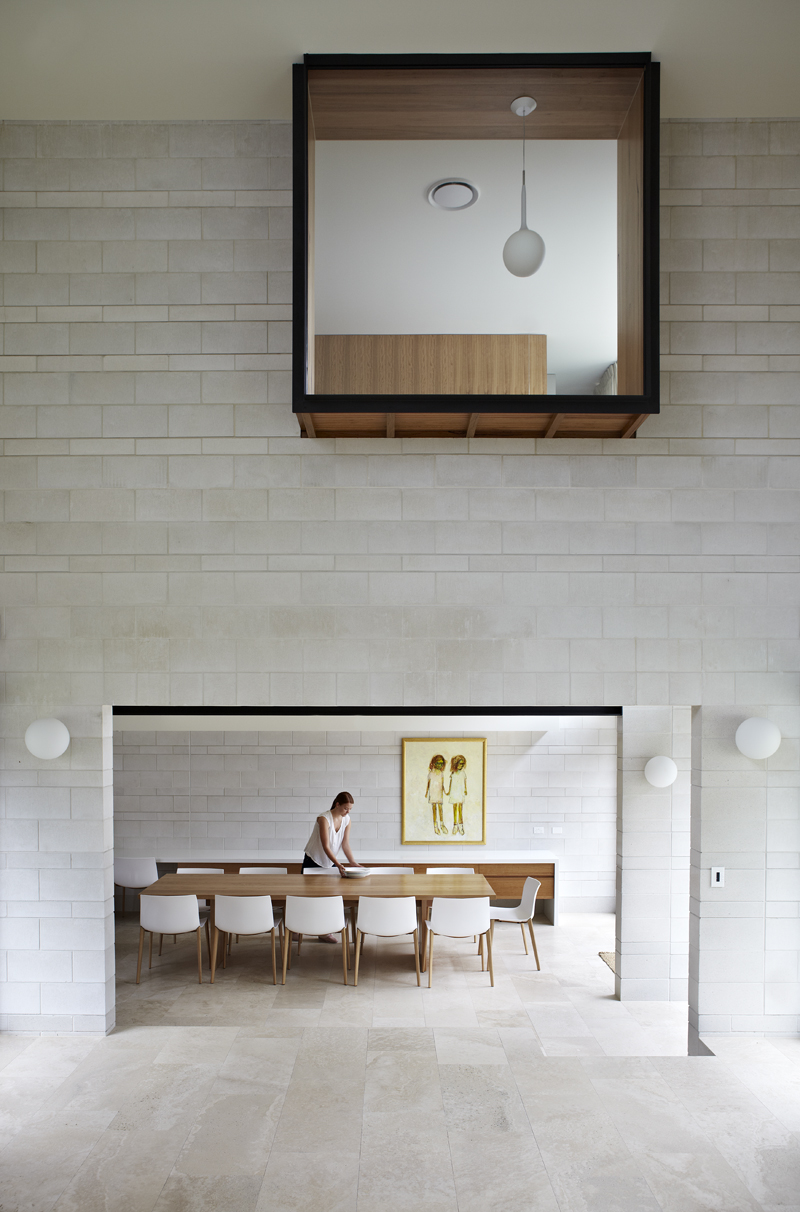 A Home With A Courtyard At Its Heart Clayfield House By Richards And Spence