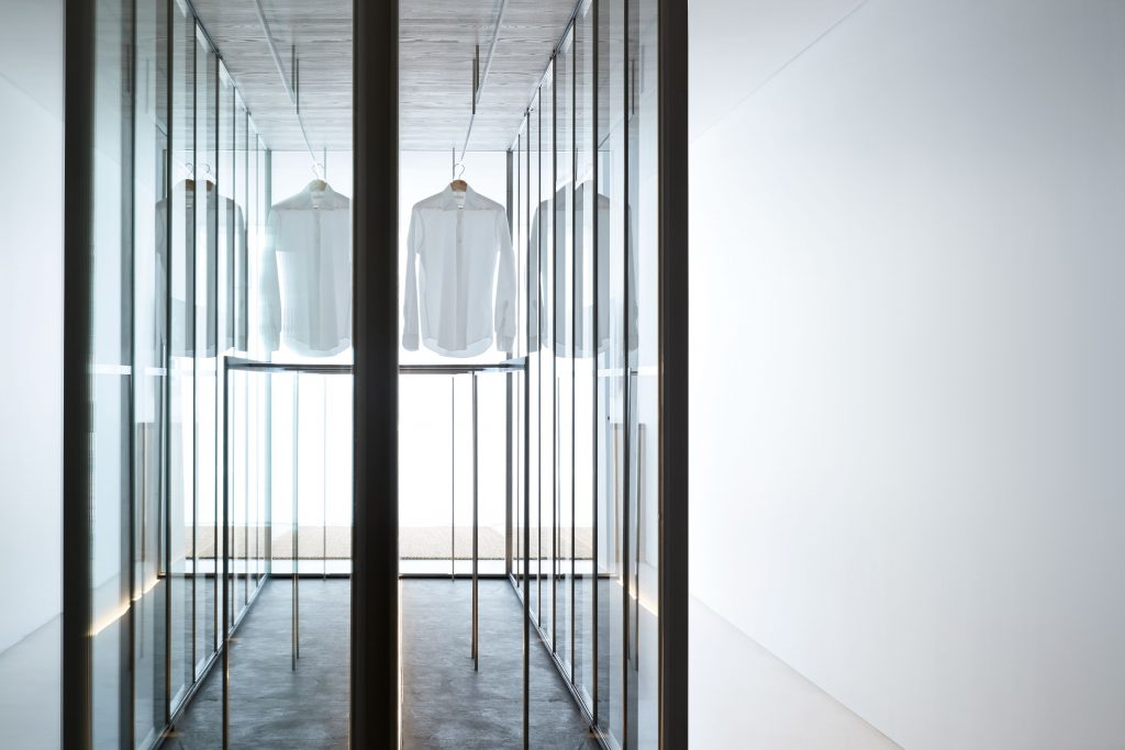 A Palpable Sense Of Stillness Is Created By The Soft Envelope Of White Walls