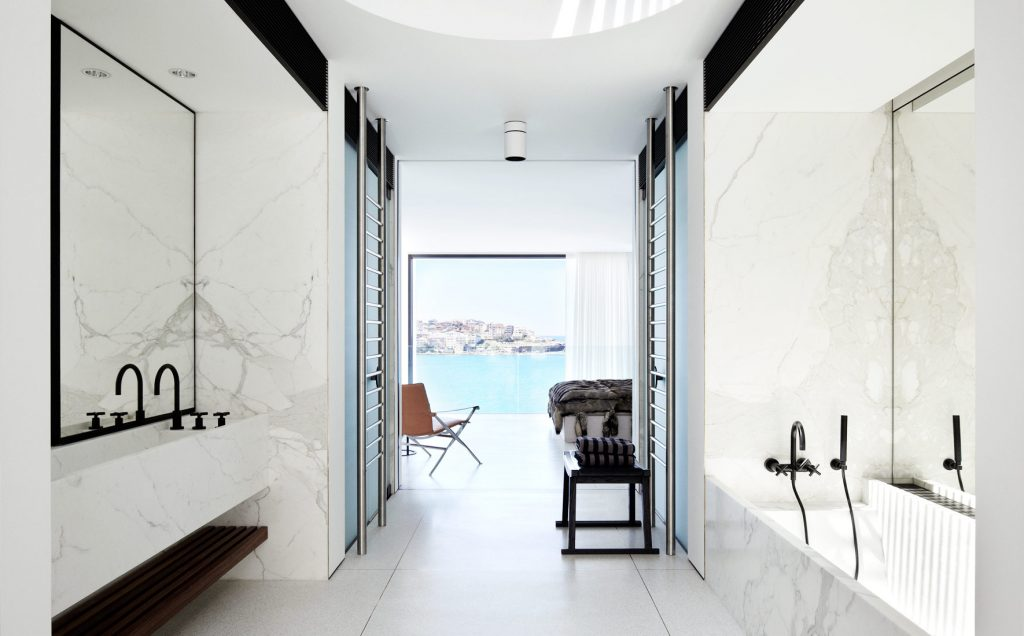 Leads To A Dressing Room And Spacious Marble Ensuite.