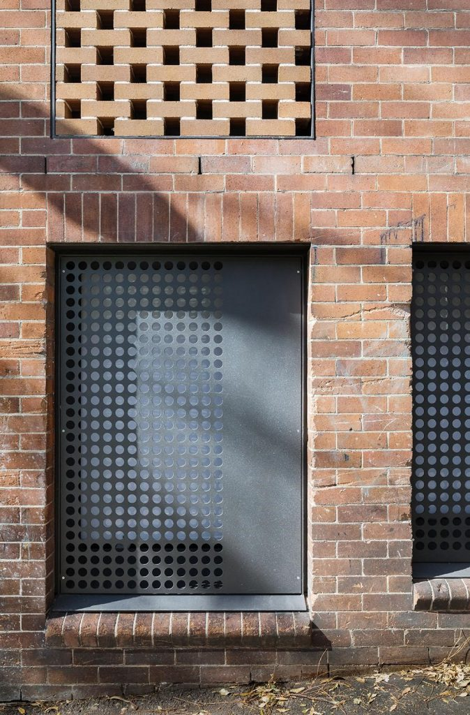 """The House In Darlinghurst By Tribe Studio Is Described As A """"curious Little Red Brick Building"""