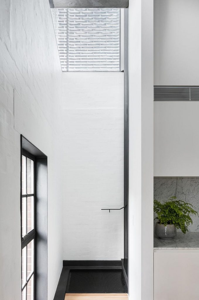 The Design Takes Its Cues From The Building's Industrial Heritage