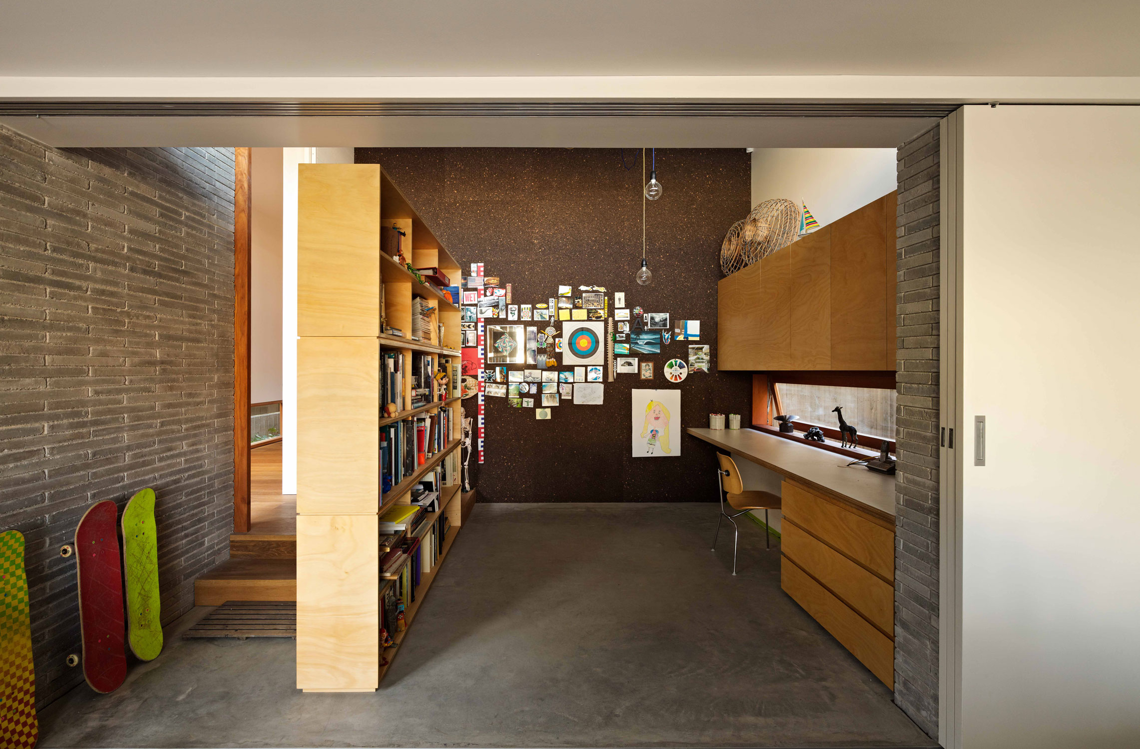 Carving Out Volumes And Replanning The Internal, Sees Andrew Burgess Architects Breathe New Life Into This Long Narrow Footprint.