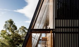 With A Triple Polycarbonate Translucent Later To The West, The House Creates A Mediated Connection With The Outdoors.