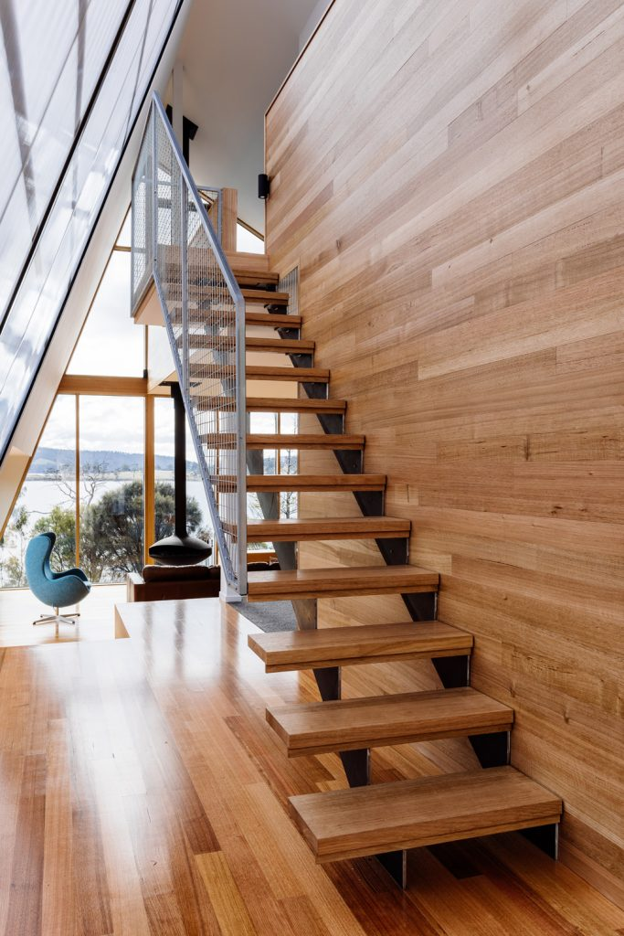 The Glass Northern Walls Provide Panoramic Views Out To The Sea And Distant Hills.