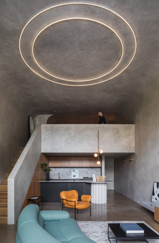 The Clients, Who Work In Design Related Disciplines, Sought To Shed Their Home Of Unimportant Accumulation And Create A Space Free Of Clut