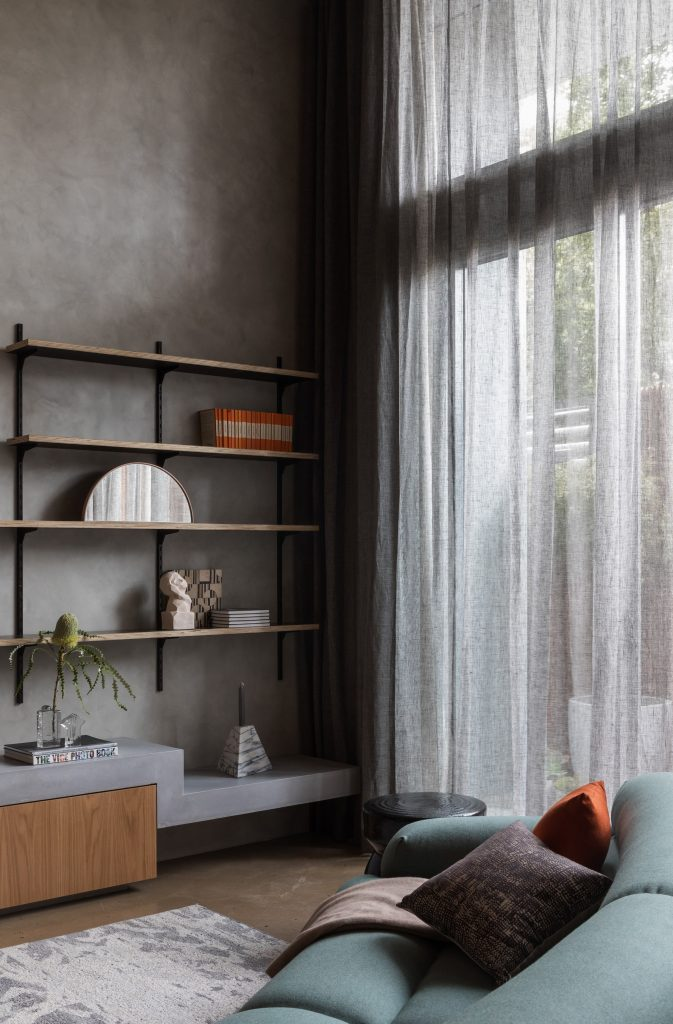 Geometric Interior And A Celebration Of The Neighbourhood's Industrial Heritage