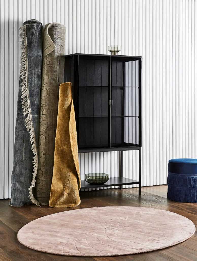 Totemic Silhouettes In Brushed Metal Work In Unison With Leather Upholstery, Whilst Tweed Makes A Contemporary Resurgence