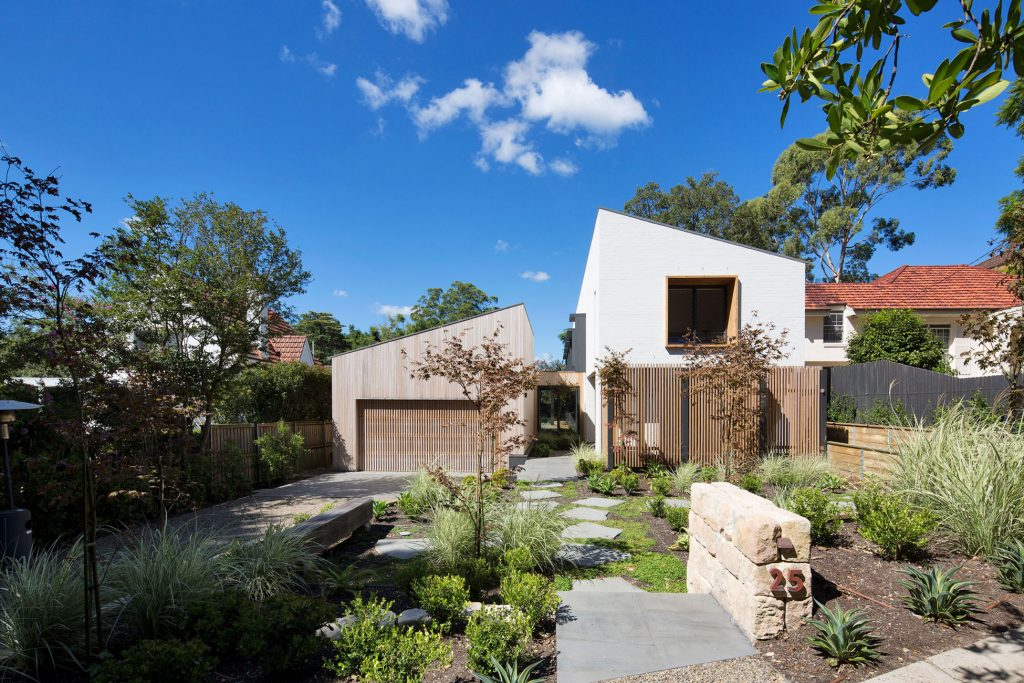 Dismantling The Traditional Residential Typology, Garden House Is Designed Around A Central Courtyard, Taking Inspiration From The Gable