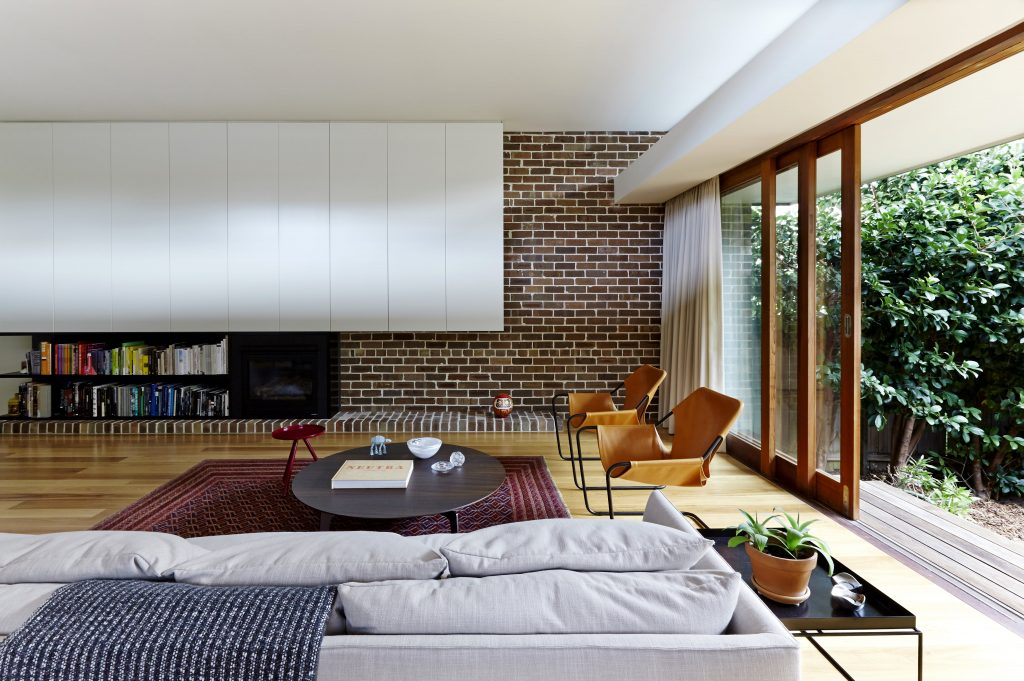 The Traditional Sydney Semi Is Reborn With A New Pavilion That Contains Living, Kitchen And Dining Flowing Out To The