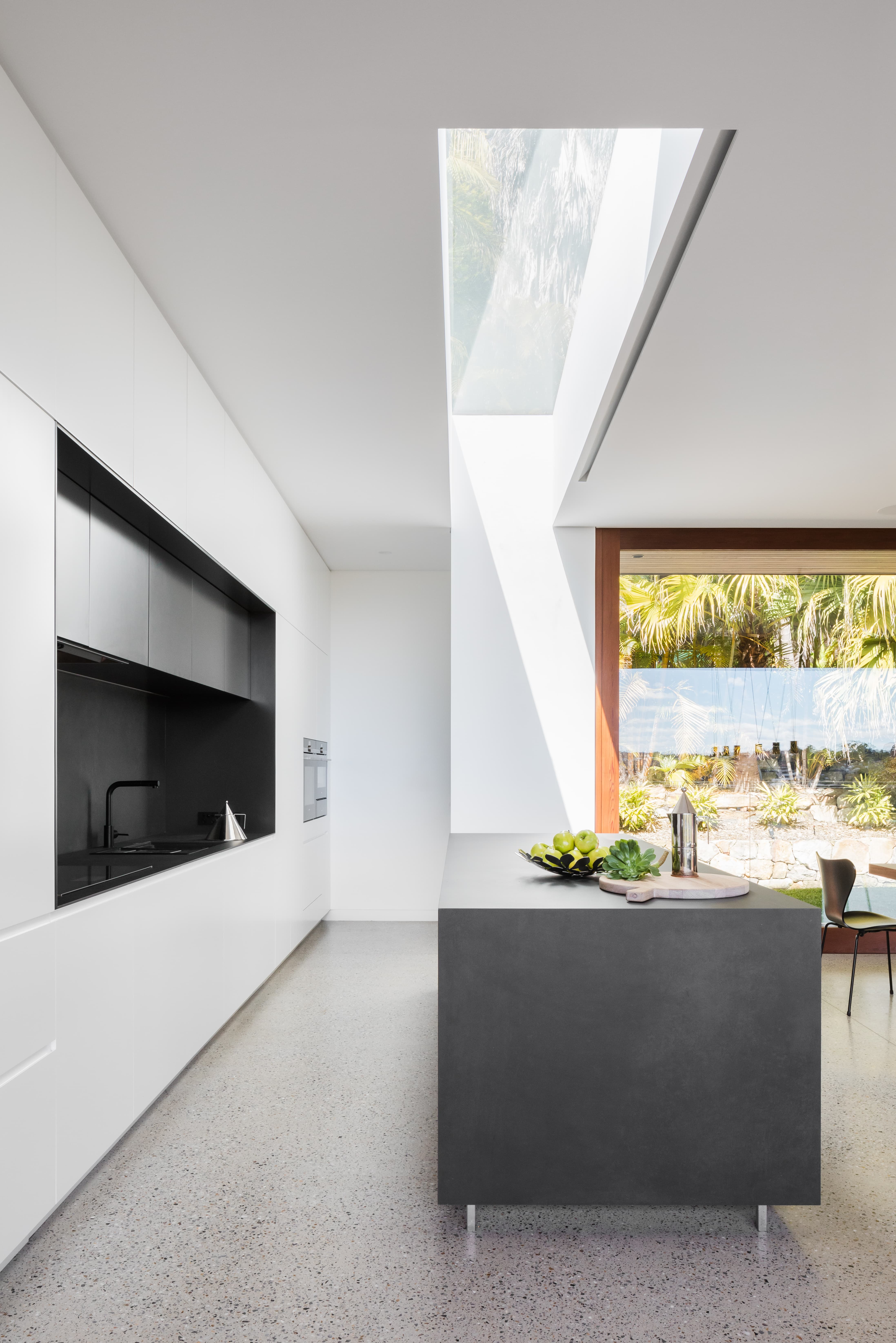 Set Above The Streetscape In Sydney's North Shore Suburb Of Middle Cove, H House Is Referred To As The 'tree House' By Its Owne