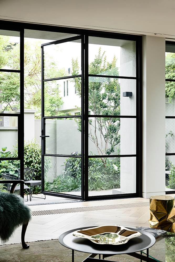 """""""the Concept Of An English Glazed Conservatory Was Adopted For The Whole Of The Redevelopment Of The Ground Floor."""""""