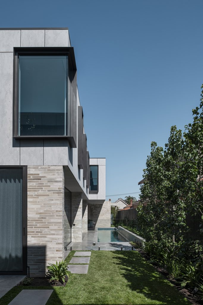 There Is A Sense Of Protection Through The Solid And Compacted Composition, Which Then Tapers As The Home Opens Itself Up To The North Fa