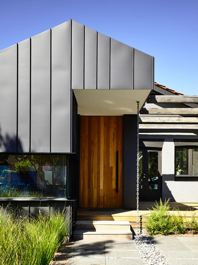 The Elwood Gable House Is A Small Intervention To An Existing Dwelling On A Suburban Street