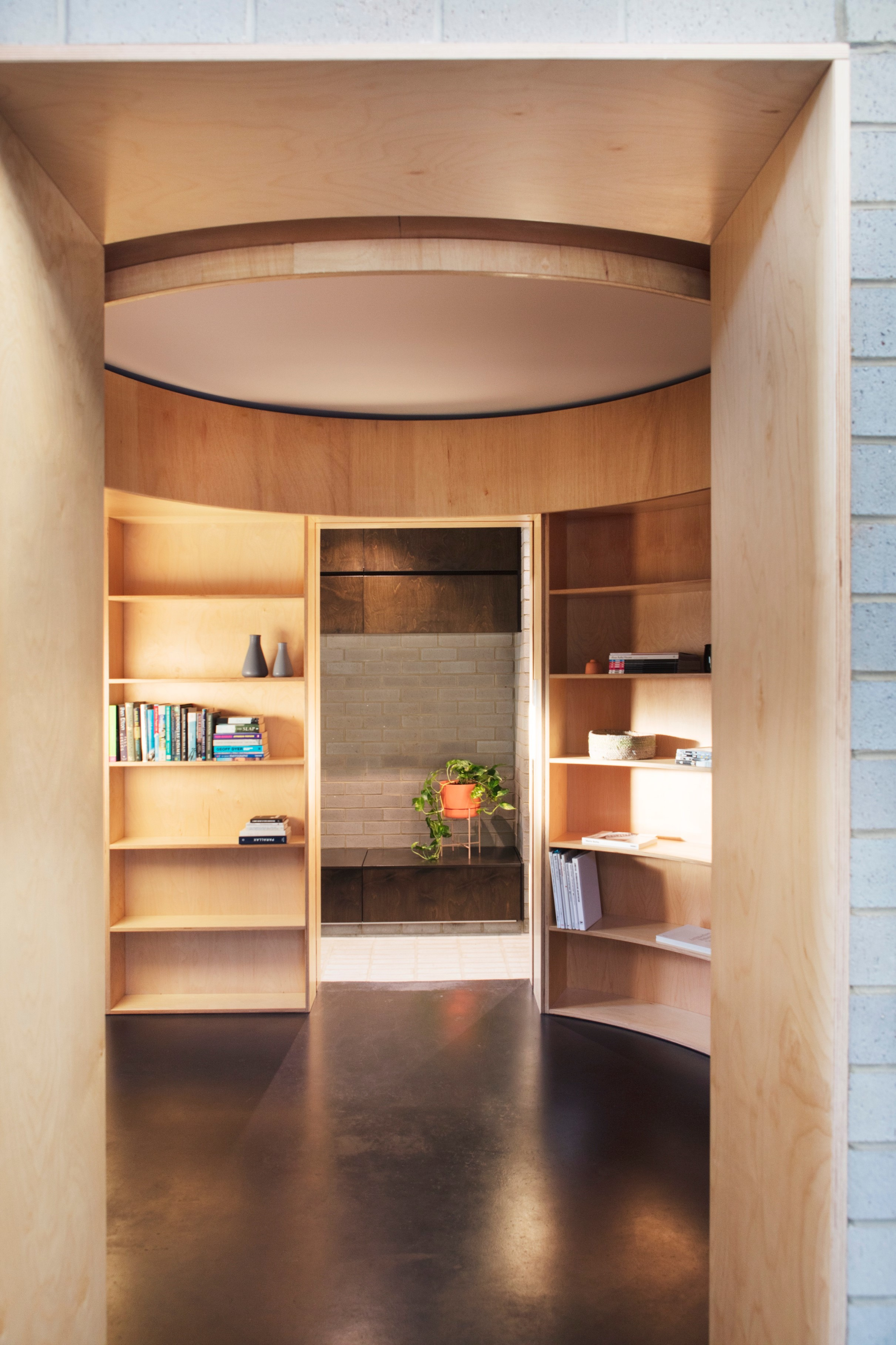 This 'barefoot Space' Has A Raw Casualness That Suggests The Dweller's Relaxed Temperament.