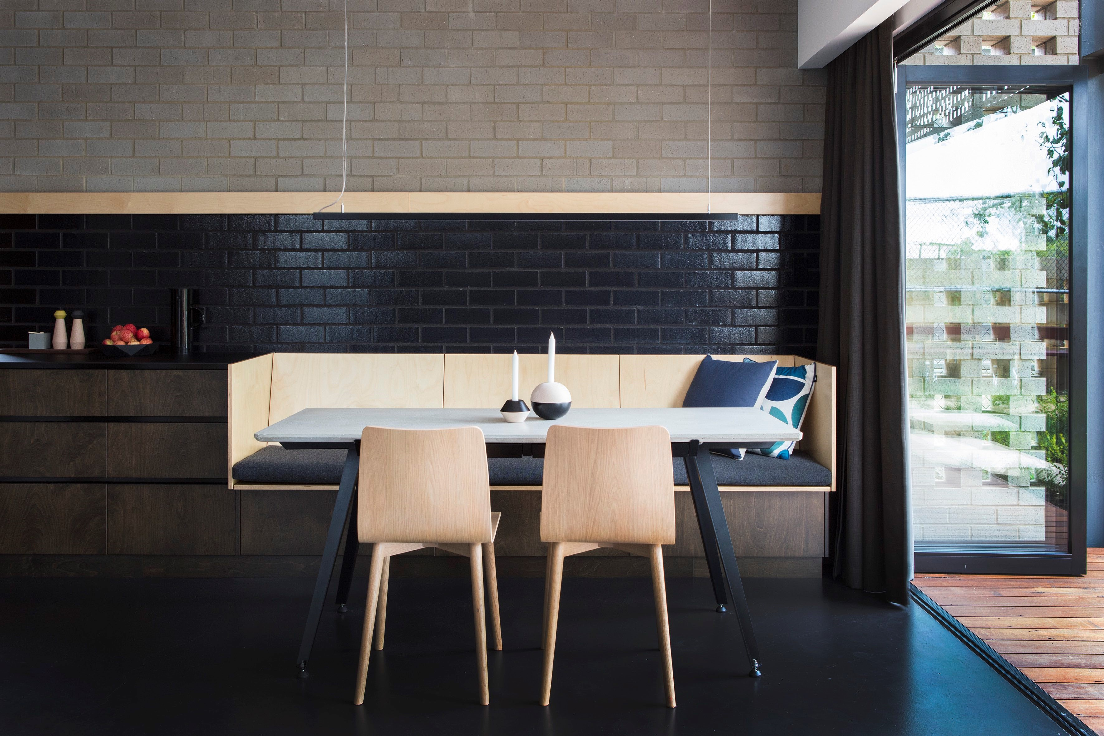 Blinco Street House Facilitates This Unique Process Through The Layering Of Private To Social Zones Leading The