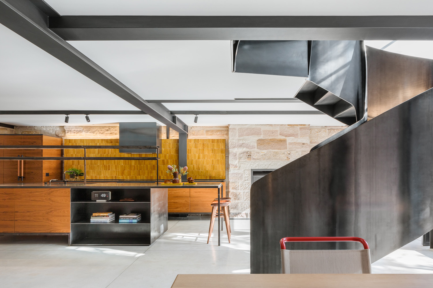 Integrated Appliances By Fisher & Paykel Were Key To Creating This Effect That Allows The Joinery To Be Viewed As Simple, Elega