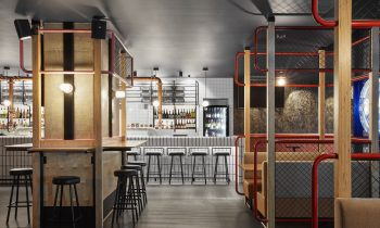 Familiar Elements Such As A Pool Table And Atari Tabletop Games Are Located Around The Bar To Activate These Small Nooks, While Larger Seating Areas Are P