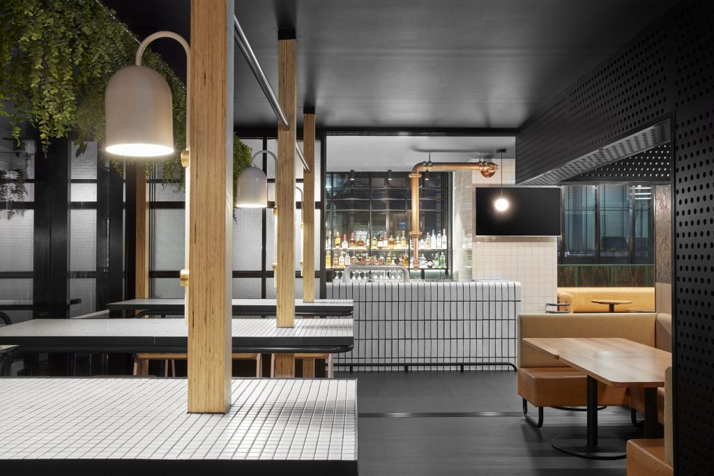 Conceived As A Contemporary Interpretation Of A Classic Sports Bar, Kicks, Is A Celebration Of All Things Sport.