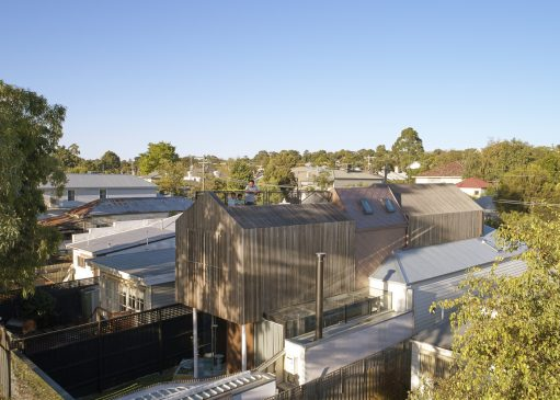 The Cladding And Large Rear Gum Tree Also Act As Shading Devices And Create Shadow Patterns From The Natural Light Entering The House As The Sun Moves During T