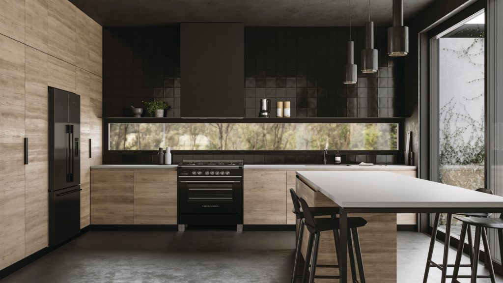 The Black Range Consists Of The 60cm Built In Oven, The Black Glass Ceramic Cooktop Available In Gas, Electric And Induc