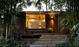 The Timber Screens Then Add A Layer Of Richness And Warmth That Otherwise Would Not Exist In Its Absence.