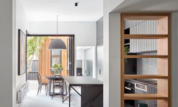 A Key Design Tool Was To Open Up The Internal Ground Floor Room But Removing The Hallway Wall