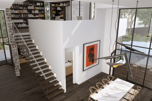 The House Utilises A Modest Palette Of Materials