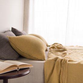Flocca Linen Pillowcase