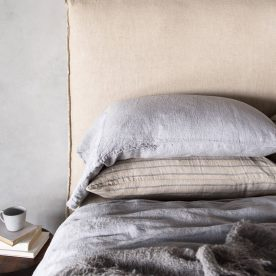 Hale Mercantile Co. Linen Cushion Long Fog