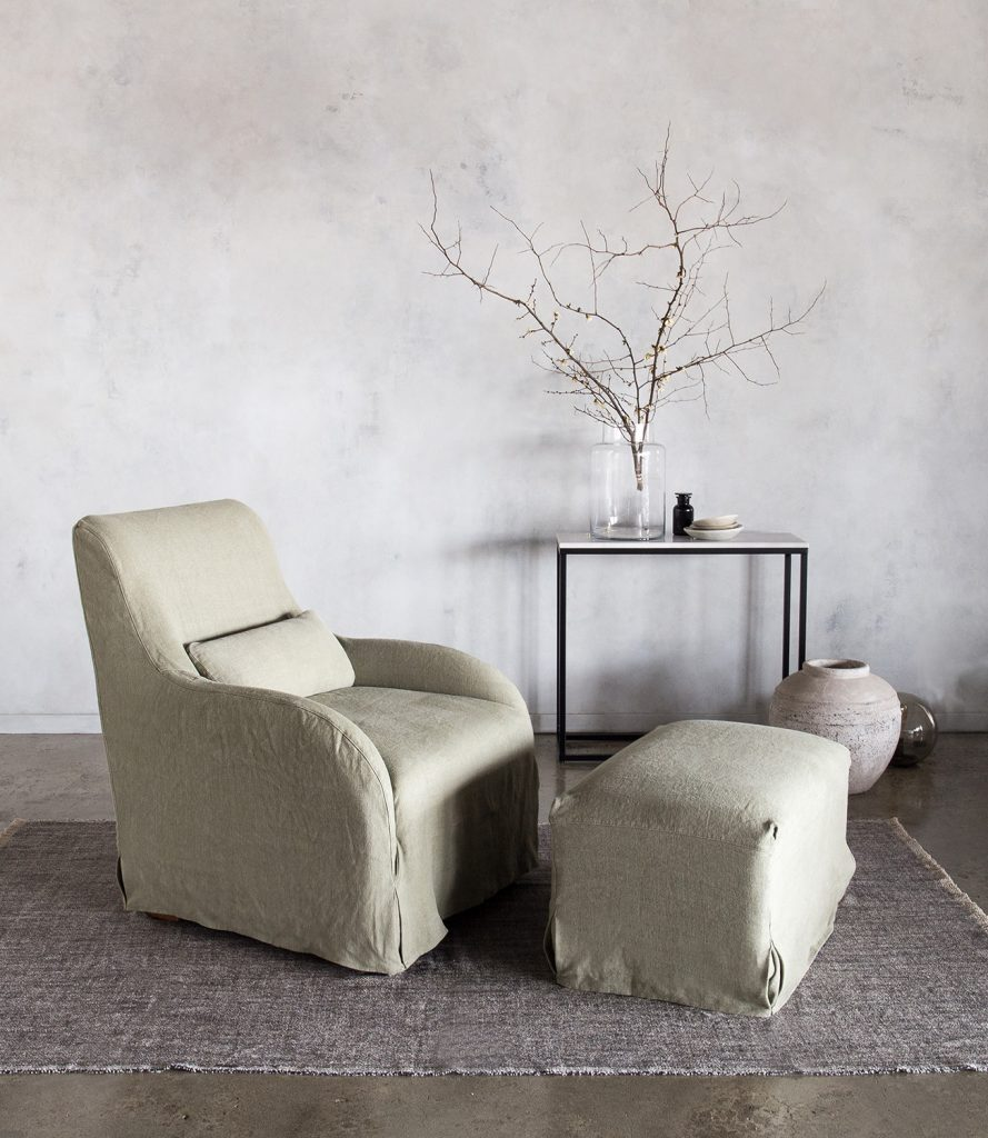 Hale Mercantile Co. Argent Armchair V3