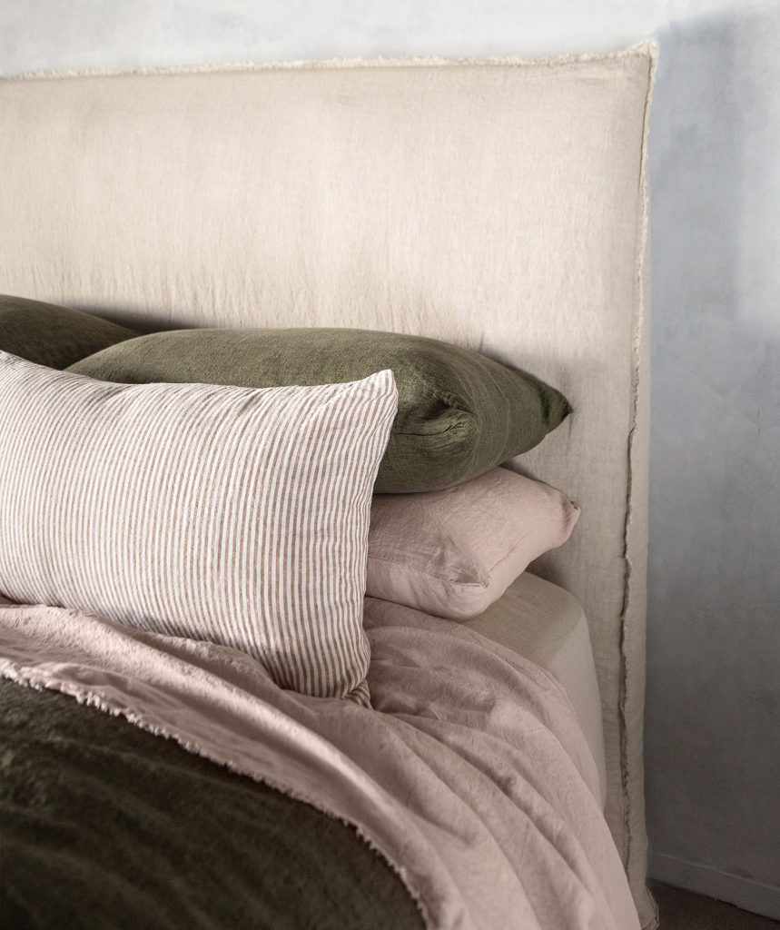 Hale Mercantile Co. Basix Stripe Cushion Armee Bed