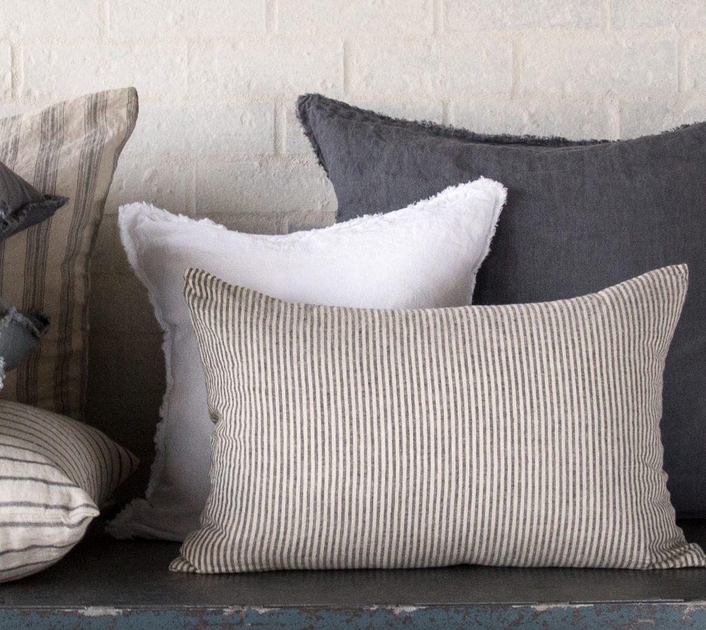 Hale Mercantile Co. Basix Stripe Cushion