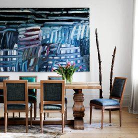 Dining Room Lisa Buxton Interiors Studio Profile Melbourne, Vic, Australia