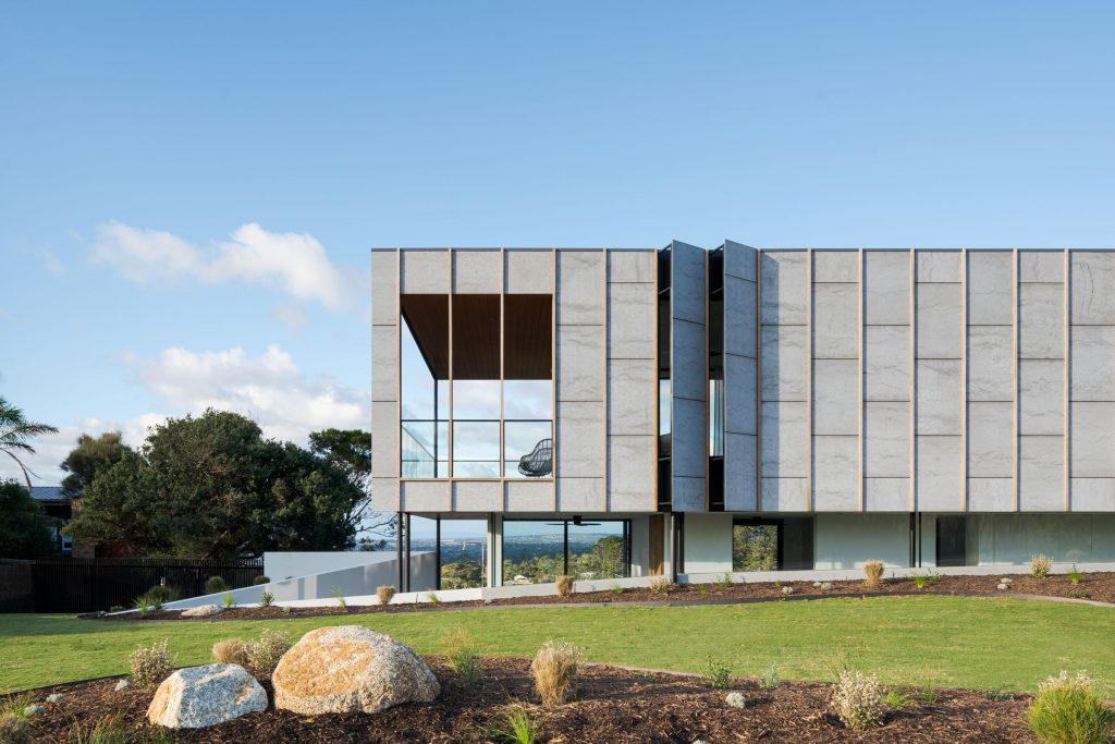Born From A Place Of Immersion Three Angle House By Megowan Architectural Mount Martha Vic Image 13