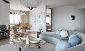 An Art Filled European Inspired Interior Avian Apartment By Ali Holgar Interior Design Brisbane Qld Australia Image 27