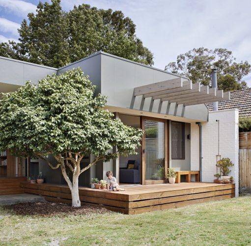 Courtyard Deck House Zga Studio Hampton Vic Australia Image 01