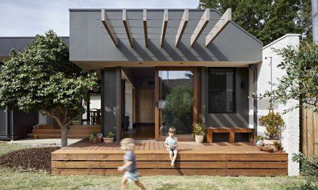 Courtyard Deck House Zga Studio Hampton Vic Australia Image 02